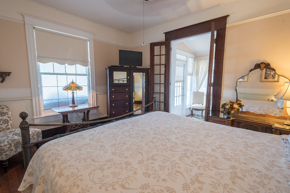 St. Augustine Bed and Breakfast: Veranda Room